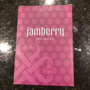 NIB Jamberry mini heater.
